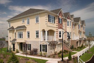 Riverside Court In Secaucus New Jersey Luxury Condo Townhouses